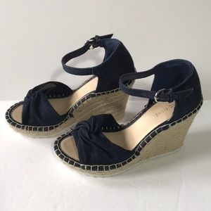 Marc Fisher Karly Open-Toe Espadrille Wedge